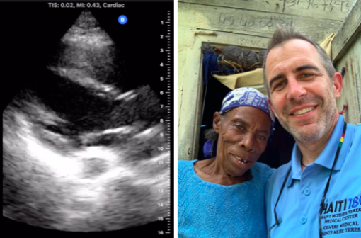 IHS Supporting Haiti180 with Portable Ultrasound